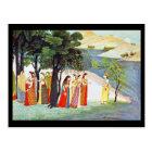 Postcard-Classic Art-Indischer Maler 9 Postcard
