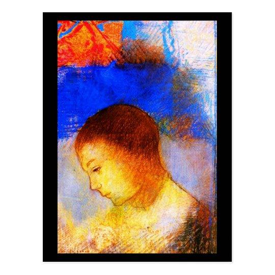 Postcard-Classic Art-Redon 3 Postcard