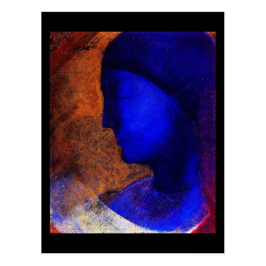 Postcard-Classic Art-Redon 8 Postcard