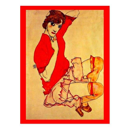 Postcard-Classic/Vintage-Egon Schiele 37 Postcard