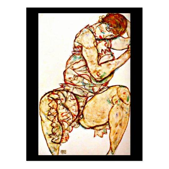 Postcard-Classic/Vintage-Egon Schiele 9 Postcard