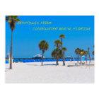 Postcard Clearwater Beach Florida