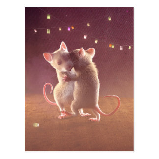 "Postcard: ""Dancing by night"" Postcard"