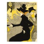 Postcard: Divan Japonais by Toulouse-Lautrec Postcard