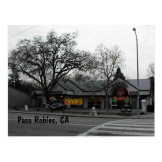 Postcard, Downtown Paso Robles, CA Postcard