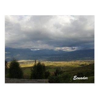 postcard Ecuador