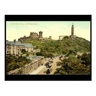 Postcard, Edinburgh, Calton Hill Postcard