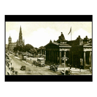Postcard, Edinburgh, Princes Street Postcard