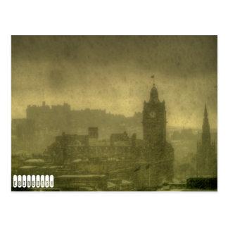 Postcard Edinburgh Vintage