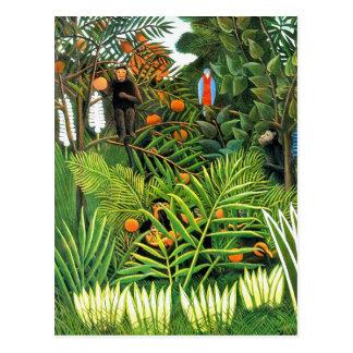 """Postcard: """"Exotic Landscape""""/""""Paysage Exotique"""" Postcard"""