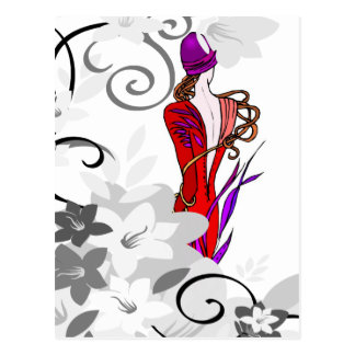 Postcard-Fashion Statement Postcard