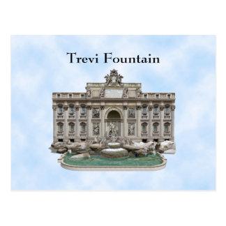 Postcard Fontana di Trevi Trevi Fountain