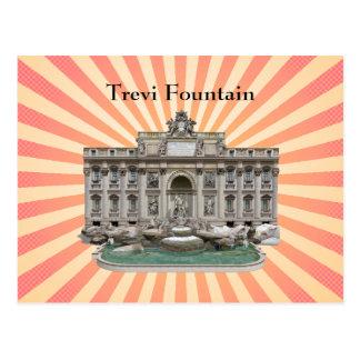 Postcard: Fontana di Trevi: Trevi Fountain Postcard