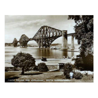 Postcard, Forth Bridge, Scotland Postcard