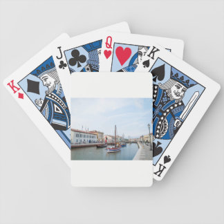 Postcard from Cesenatico (Italy) Bicycle Playing Cards