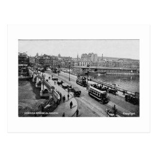 Postcard, Glasgow, Jamaica Bridge