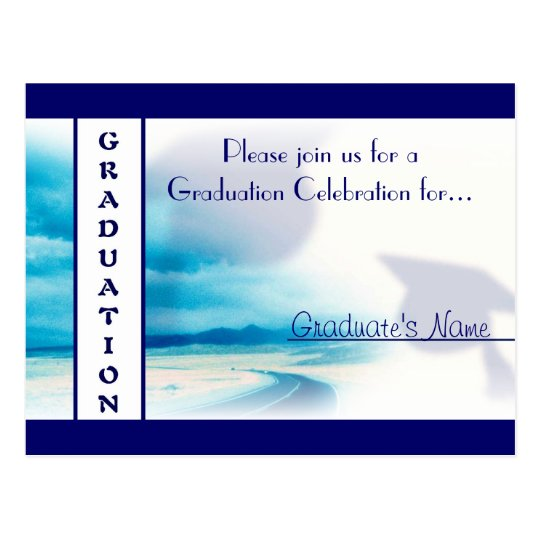 Postcard ~ Graduation :: Invitation