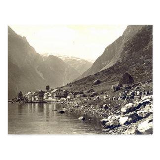 Postcard, Gudvangen, Norway