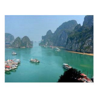 Postcard ha Long Bay in Quảng Ninh, Vietnam