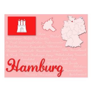 "Postcard ""Hamburg"""