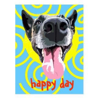 Postcard happy day
