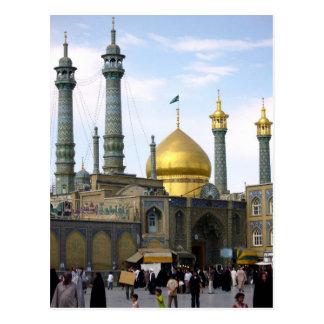 Postcard Hazrat-e Masumeh, Qom, Iran