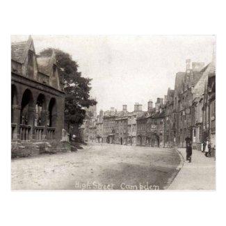 Postcard, High Street, Chipping Campden, c 1920