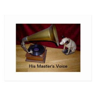 Postcard - His Master's Voice