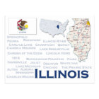 "Postcard ""Illinois"""