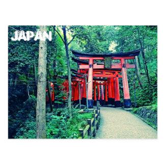 Postcard - Japan - Torii Gates in Kyoto