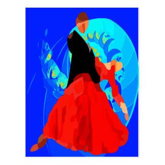 Postcard-Jean Michel Tango Postcard