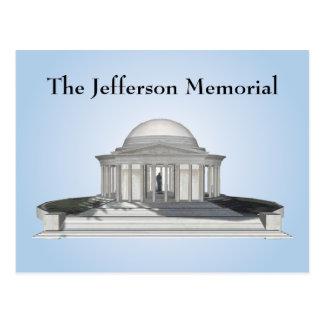 Postcard: Jefferson Memorial Postcard