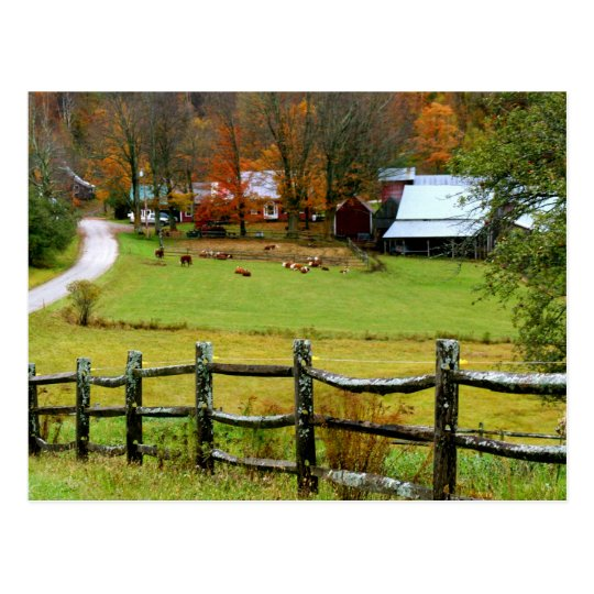 Postcard Jenne Farm