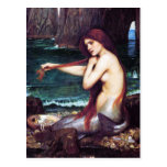 Postcard: John Waterhouse - A Mermaid