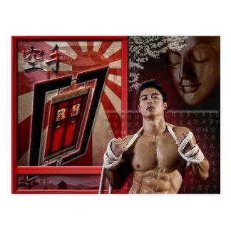 Postcard Karate