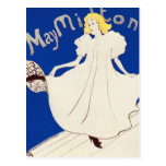 Postcard:   Lautrec - French Art - May Milton Postcard