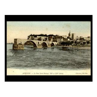 Postcard, Le Pont d'Avignon