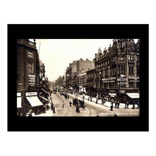 Postcard, Leeds, Yorkshire Postcard