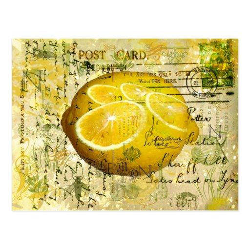Postcard Lemons Post Card