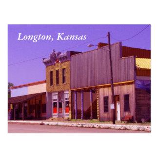 Postcard:  Longton, Kansas Postcard