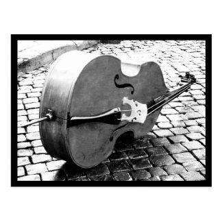Postcard-Love the Arts-Cello Postcard