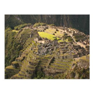 Postcard Machu Picchu (closeup), Peru