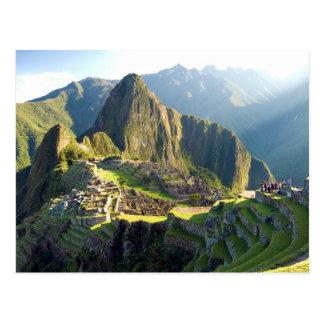 Postcard Machu Picchu, Peru