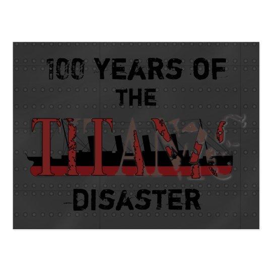 Postcard memory of Titanic