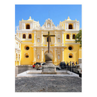 Postcard Merced Church, Antigua, Guatemala