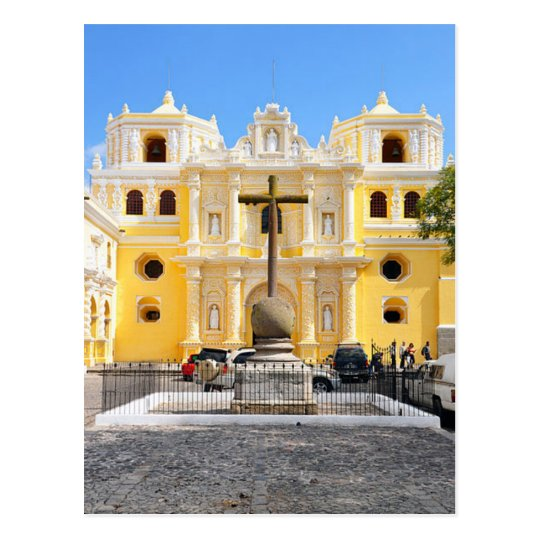 Postcard Merced Church, Antigua, Guatemala