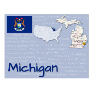 "Postcard ""Michigan"""