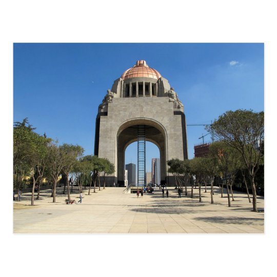 Postcard Monument to the Revolution, Mexico City