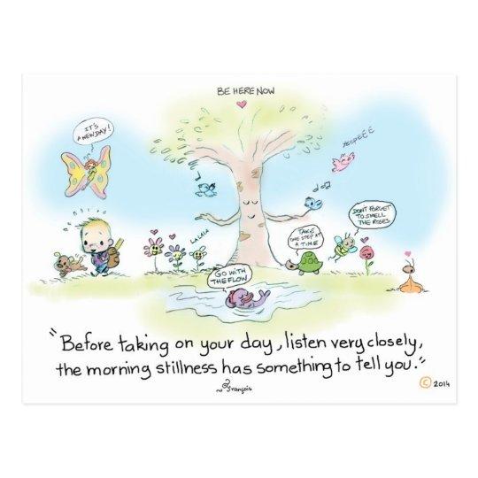 Postcard Morning stillness