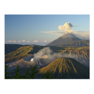 Postcard Mount Bromo, Java, Indonesia